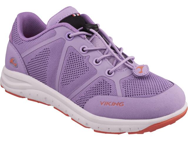 Viking Footwear Ullevaal Chaussures Enfant, lavender/coral